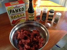 Food Prep - I love putting cranberries in my burgers