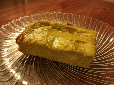 that kind a dry pumpkin cake