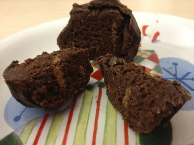chocolate protein ball