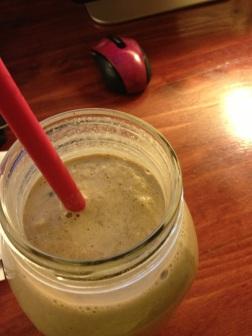 choc protein shake