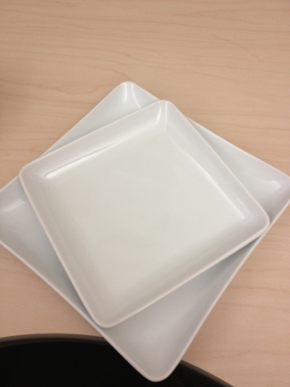 A new smaller plate for my meals